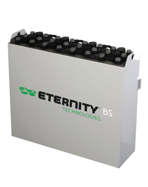 New forklift truck battery