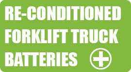 reconditioned forklift truck batteries